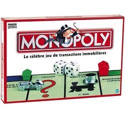 Gagnant jeu monopoly