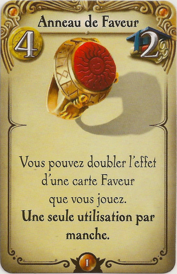 Alchimistes : Anneau de Pouvoir