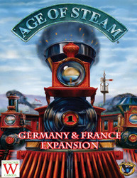 Age of Steam : Germany & France Expansion