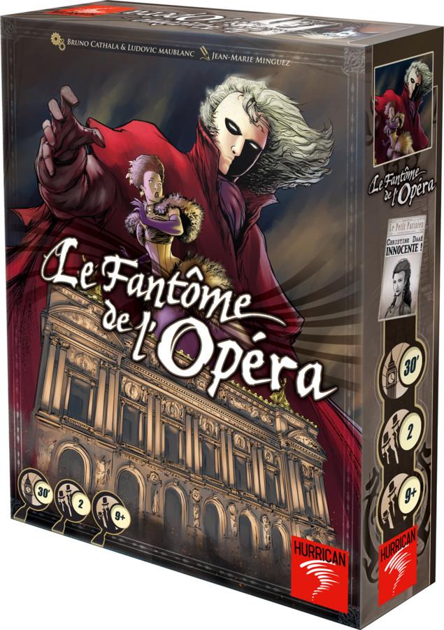 La boite 3d de Le Fantôme de l'Opéra