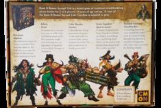 Rum & Bones Second Tide : Marea de la Muerte - Heroes Set #1