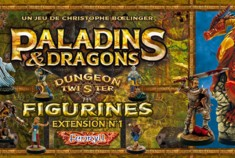Dungeon Twister Paladins et Dragons - Figurines