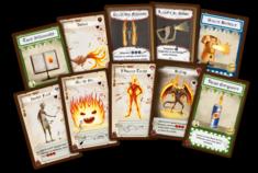 Dungeon Fighter : Feu à volonté !: les cartes