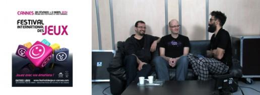 Arnaud DEMAEGD et Jean-Marie MINGUEZ, illustrateurs à Cannes 2014