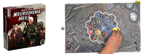 Neuroshima Hex! 3.0, de la partie