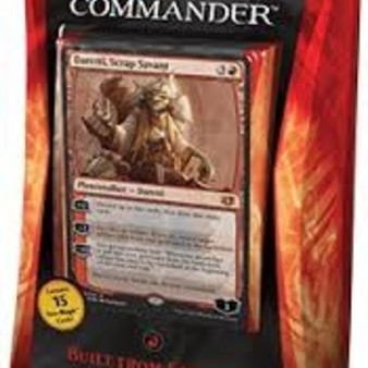 """Magic """"The Gathering"""" ; Commander Deck rouge 2014"""