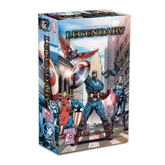 Legendary : Captain America 75th Anniversary