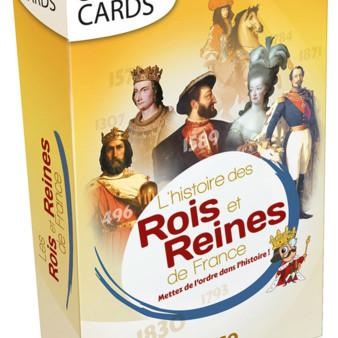 Chronicards : L'Histoire des Rois et Reines de France
