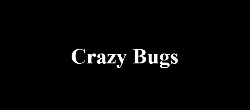 Le jeu gratuit du vendredi :  Crazy Bugs