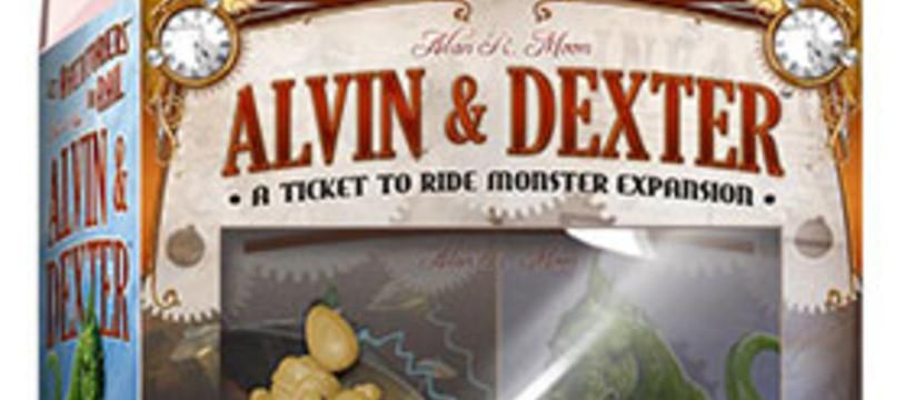 Les Aventuriers du Rails dévorés par Alvin & Dexter
