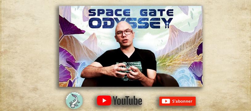 Space Gate Odyssey dans le YouTube de Tric Trac