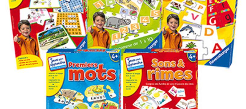 Une nouvelle collection de jeux éducatifs chez Ravensburger