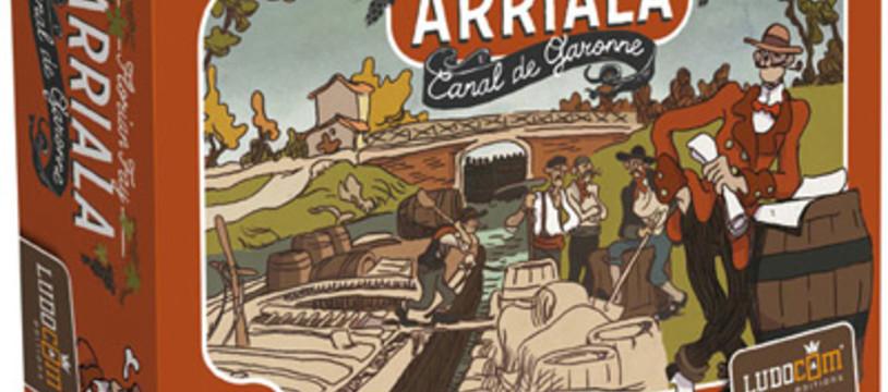 Arriala, le canal du Tarn-et-Garonne