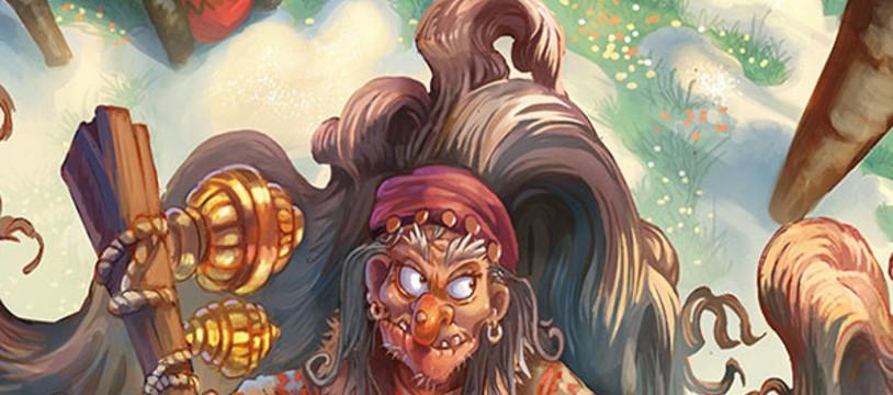 Baba Yaga, une sorcière en boutique