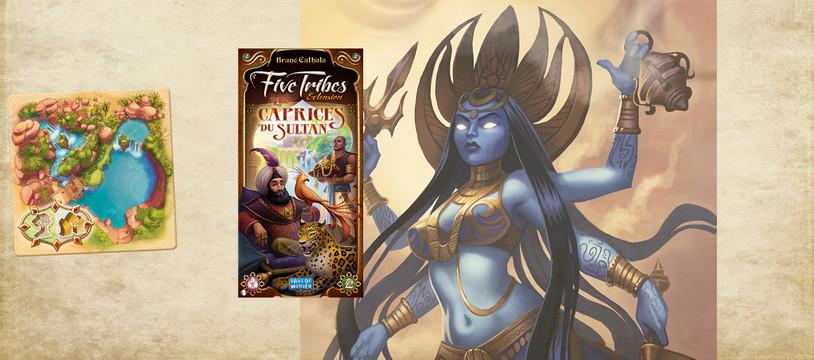Five Tribes - Les Caprices du Sultans : Pour gagner ton poids en or !