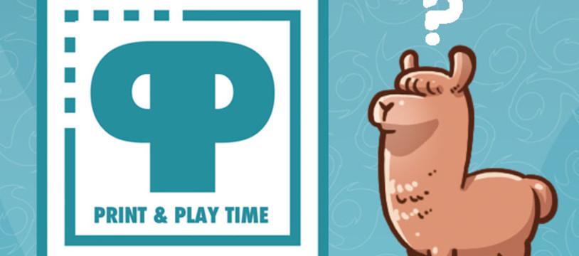 PRINT & PLAY TIME ! Une collection de jeux à imprimer
