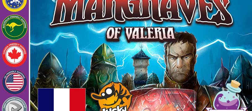 Dernières heures pour rejoindre la campagne deMargraves of Valeria!