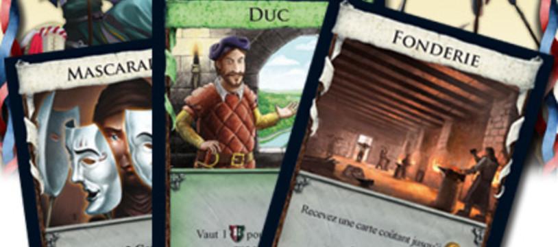 Intrigue à Dominion, 3 cartes en préview