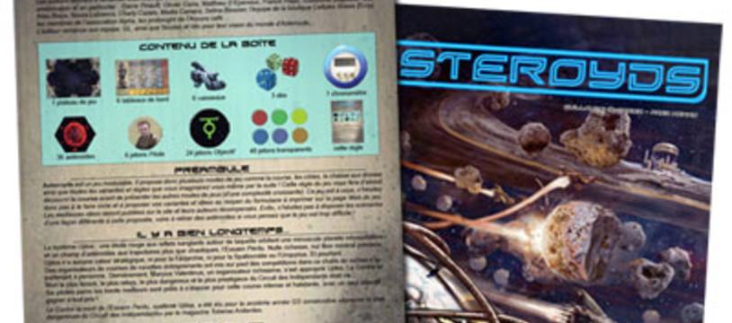 Les règles d'Asteroyds en ligne