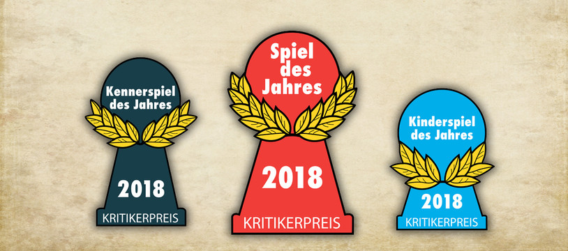 Les nommés pour le Spiel des Jahres 2018 sont...
