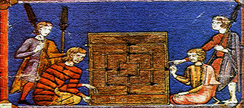 Rithmomachie, le jeu des nerds du moyen-âge