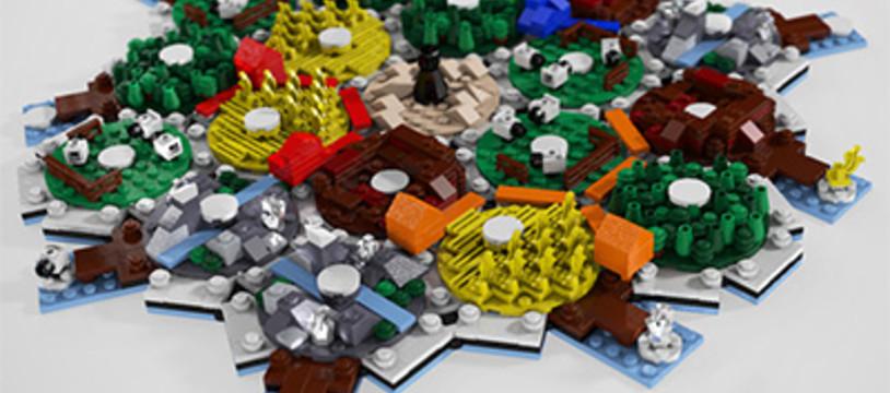 Catane en Lego
