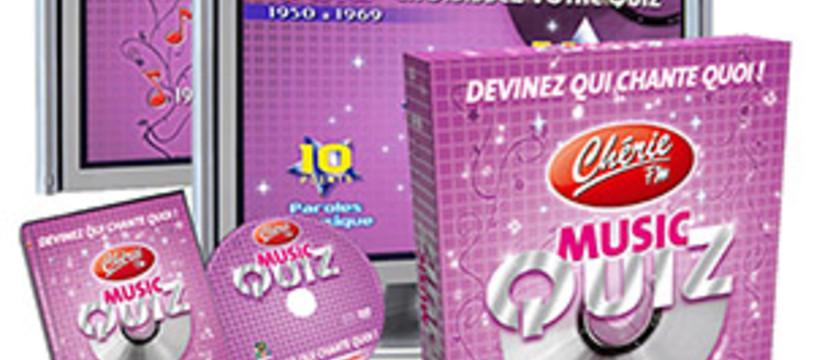 Music Quiz Chérie FM, le jeu sur DVD