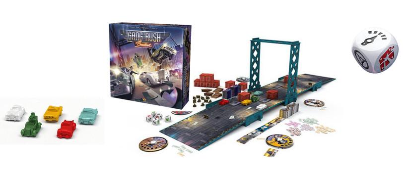 Gang Rush Breakout : Roule, roule, roule... et dégomme-les !