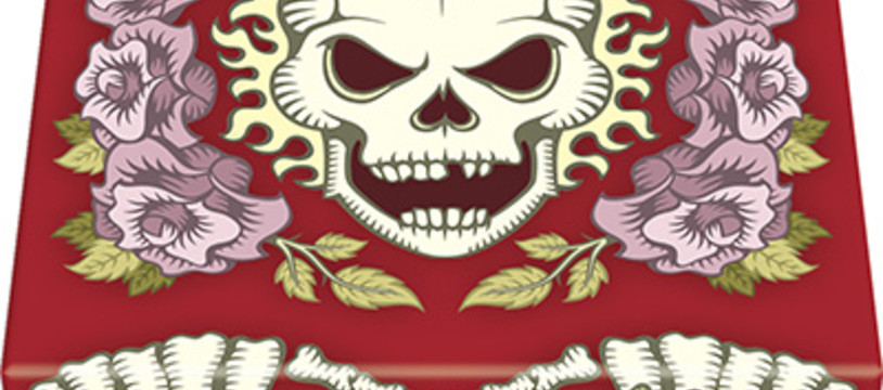 """Skull & Roses"" nous la sort red"