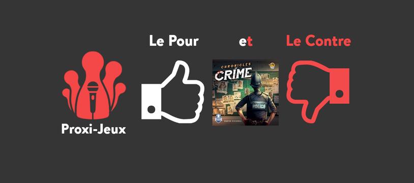 [Podcast][Le Pour et le Contre] Chronicles of crime