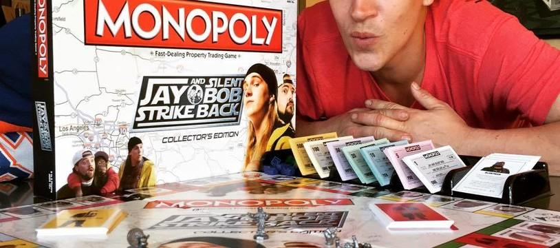 Monopoly Jay & Silent Bob et le mouvement Kitchype