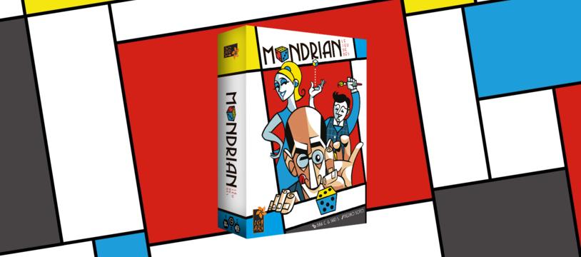 Mondrian : Le jeu de dés