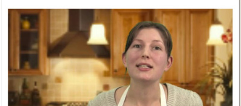 Gertrude dans la Tric Trac TV
