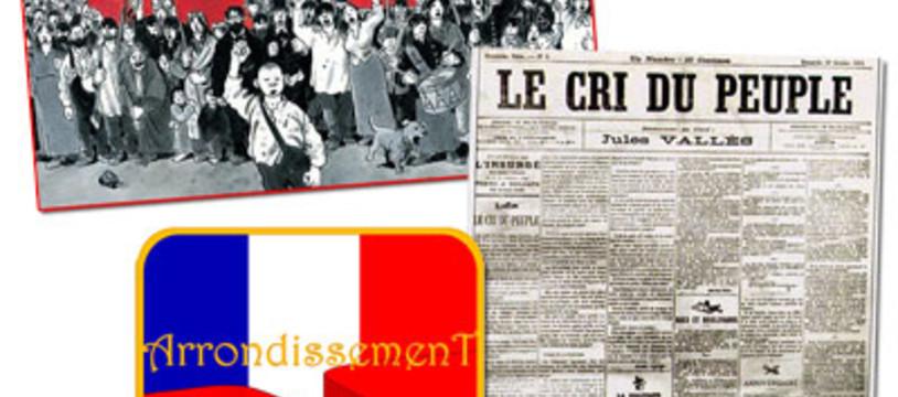 Le drapeau rouge flotte sur Paris