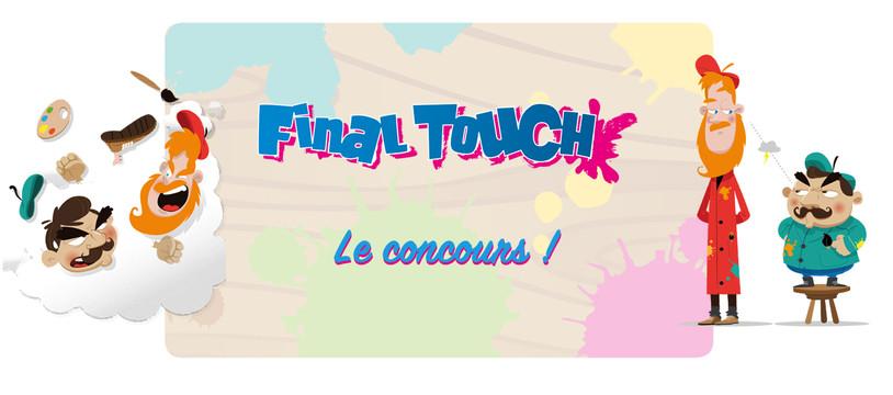 Final Touch : Du concours qui tâche... de peinture !