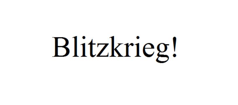 Le jeu Kickstarter du samedi : Blitzkrieg!