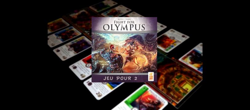Fight for Olympus, pour jouer à deux à Troie