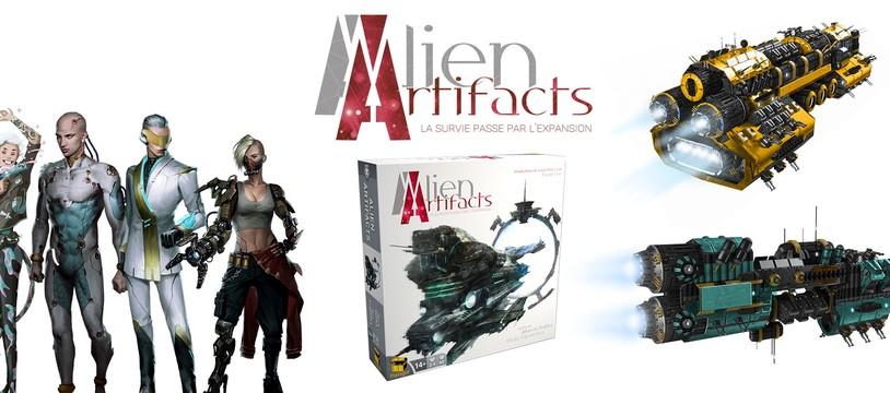 Alien Artifacts : Au nom de la lumière blanche...