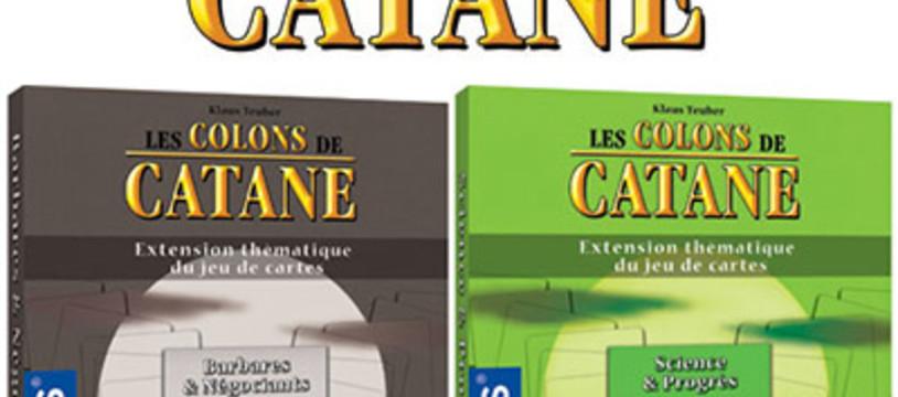 2 extensions pour les Colons de Catane