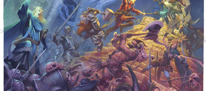 Dungeon Saga : Mantica, ambiance de la frousse
