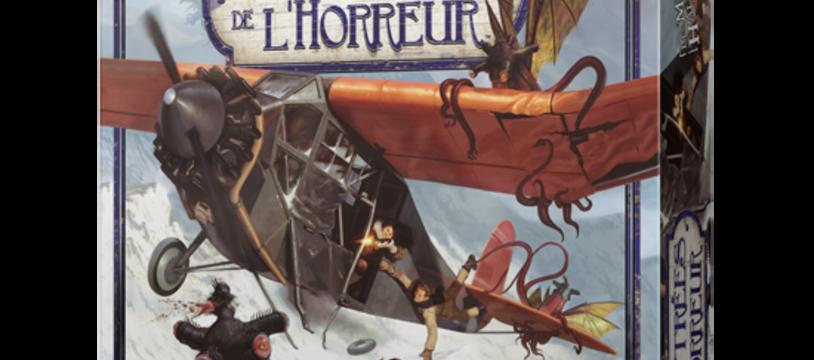 Les Contrées de l'Horreur - Les Montagnes Hallucinées : Shoggoth the Blues... in White !