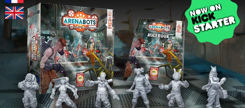 ArenaBots est sur Kickstarter