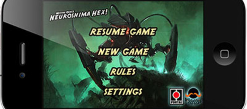Neuroshima Hex! version 1.10 pour IPhone