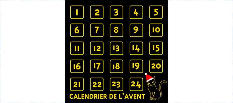 Le calendrier de l'Avent by Matagot