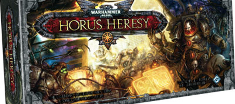 Horus Heresy est en boutique