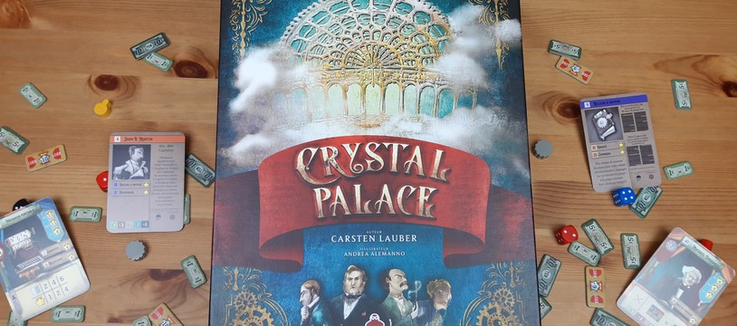 [Crystal Palace] : Diamant d'or pour l'exposition universelle !