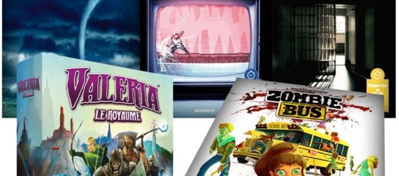 Pixie Games - les sorties de début mars
