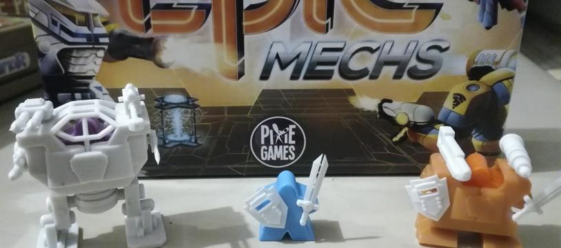 [Le Debrief] Tiny Epic Mechs, mobile suits meeple !!!