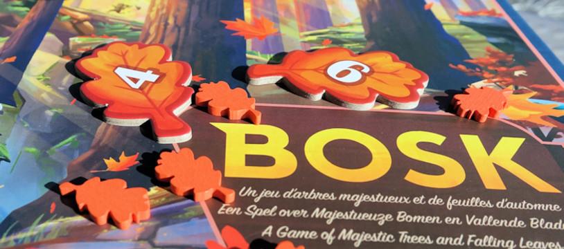 Sur le Vif! Review de BOSK : un régal visuel...mais aussi un très bon jeu de pose!