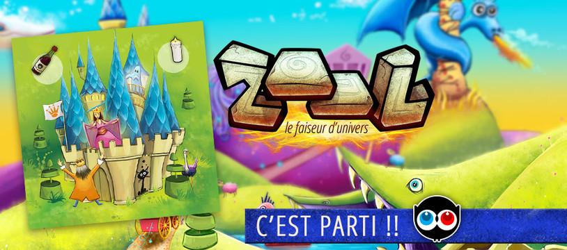 Zool, le faiseur d'univers : les contreparties Ulule !